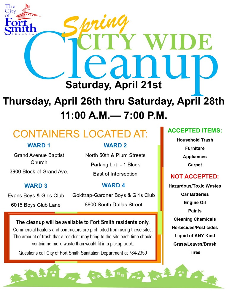 2018 cleanup flyer Springaa
